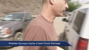 Christy Clark tours Cache Creek