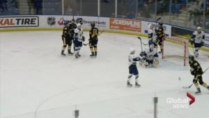 Josh Paterson scores SO winner as Saskatoon Blades edge Brandon Wheat Kings 3-2