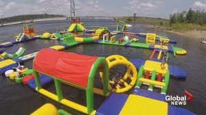 Waterpark opens just in time for New Brunswick heat wave