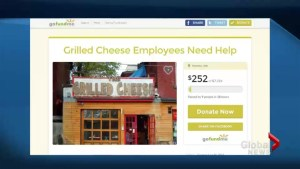 Grilled cheese employees turn to crowdfunding for help