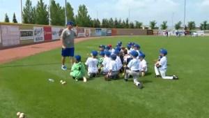 Former Blue Jays hold training camp in Okotoks
