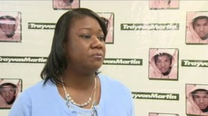 Trayvon Martin's mother urges for calm