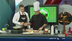 In the Global Edmonton kitchen with Morinville's Green Bean Coffee House & Bistro