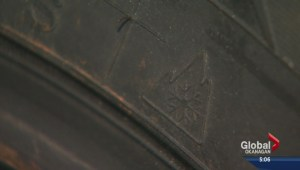 How are RCMP enforcing winter tire rules?