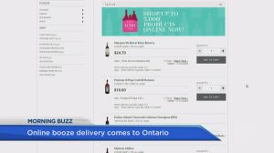 Online booze delivery now available in Ontario
