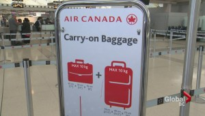Air Canada's carry-on bag crackdown