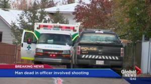 Calgary police confirm officer involved shooting in Sundance