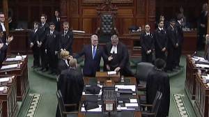 Quebec's Premier makes historic appearance at Ontario legislature