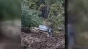 Malakwa mudslide sweeps up SUV