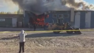 State of emergency declared after fire destroys band office, store on Shamattawa First Nation