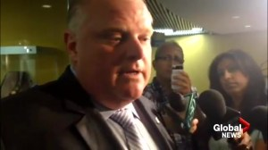 Rob Ford comments on Bill Blair's contract not being renewed