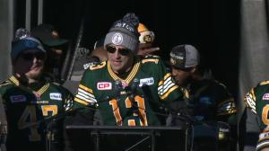 Grey Cup MVP Mike Reilly: 'I told you we were gonna bring it home'