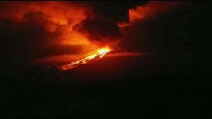Galapagos Island volcano erupts for first time in 33 years