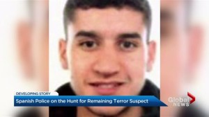 Manhunt for Barcelona van attack suspect
