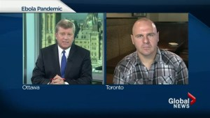 Canadian doctor says Ebola pandemic can be contained if the world responds now