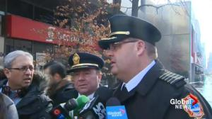 Toronto firefighters fear 'structural collapse' may be imminent in Yonge/St. Clair fire