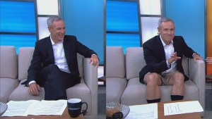 """TMS host Jeff McArthur lives up to his promise to dress down for """"casual Friday"""""""