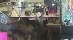 Monkey caught on camera stealing wad of cash from jewelry shop in India
