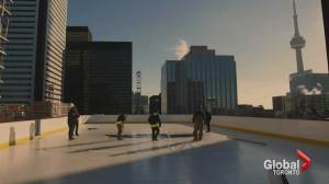 The story behind Toronto's rooftop rink