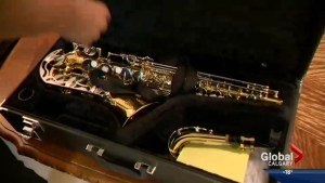 Saxophone found by Calgary Transit bus driver