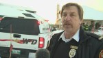 District Fire Chief speaks about blaze in Island Lakes area