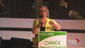 Elizabeth May attends N.B. Green Party rally