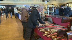 Memories and Nostalgia at Regina's Annual Gun Show