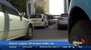 Calgary is Canada's least congested city