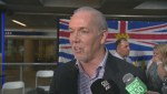 What is B.C's political future?
