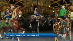 Antique carousel on Toronto Island opens for its last season