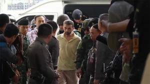 Thailand bombing suspect transferred to police custody