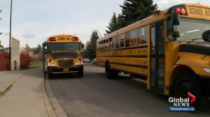 Calgary parents protest CBE bussing policy