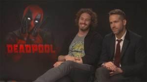 Reynolds, Skrein and Miller on why 'Deadpool' is definitely not a superhero movie for kids