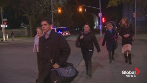 Raw video: People stream onto Ottawa streets as lockdown lifted