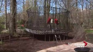 'It is an epidemic': young children continue to be injured on trampolines