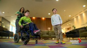 High tech waiting room helps keep kids healthy