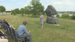 City of Fredericton receives sculpture from New Brunswick Medical Society
