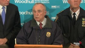 "N.Y. police commissioner says police officers killed in shooting were ""assassinated"""