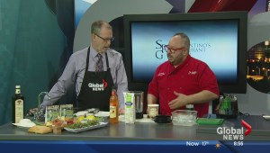 In the Global Edmonton kitchen with Sorrentino's
