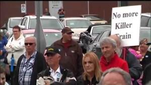 Lac-Megantic residents demand safer railways