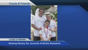 'Team Cassie' raises juvenile arthritis awareness at Vancouver half-marathon