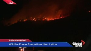 Lytton wildfire leads to evacuation order Wednesday night