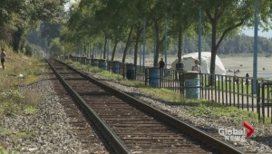 White Rock residents want railway tracks moved