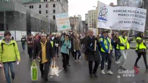 Montrealers take to the street in defence of science
