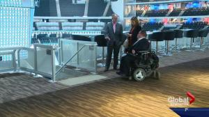 How accessible is Edmonton's new downtown arena?