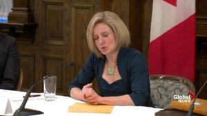 Alberta remains committed to getting product to Tidewater: Notley