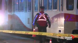Pedestrian hit by CTrain
