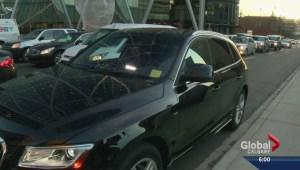Calgary begins crackdown on Uber