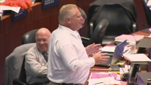 Doug Ford bombarded with chorus of meows