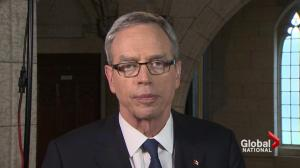 Federal Budget 2015: Finance Minister Joe Oliver speaks with Global National
